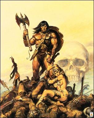 Conan, de Frank Frazetta