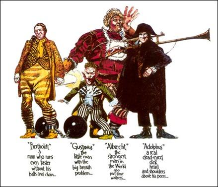 Los 4 sirvientes mágicos