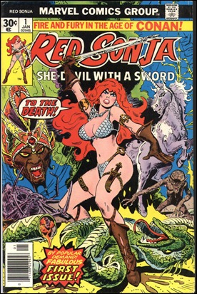 Red Sonja, de Frank Thorne