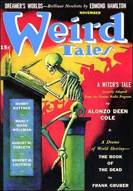 Weird Tales, el más famoso pulp magazine