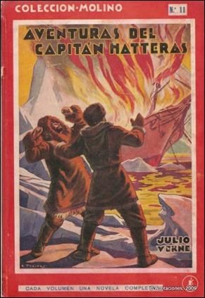 El capitán Hatteras, por Molino