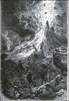 El volcán en el corazón del polo