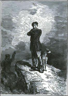 Hatteras y su perro Duck