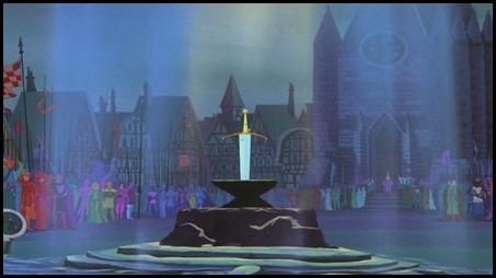 La espada en la piedra, o Merlín el encantador