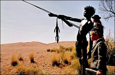 El joven guía aborigen