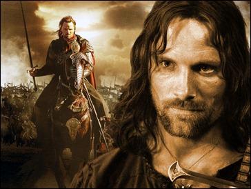 Viggo Mortensen como Aragorn