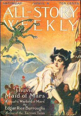 All-Story Weekly y la saga de Marte