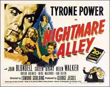 Nightmare Alley, o El callejón de las almas perdidas