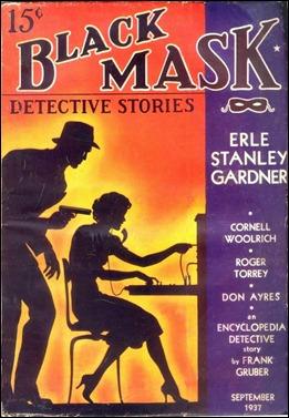 Black Mask, revista pulp donde empezó a publicar Chandler