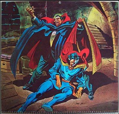 Drácula, de Gene Colan, para Marvel