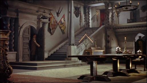 El castillo de Drácula, según la Hammer