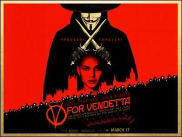 V de Vendetta, película de los Wachowski