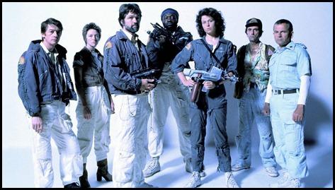 La mítica primera tripulación de Alien