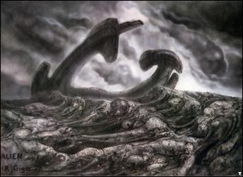 La nave naufragada en el planeta infernal