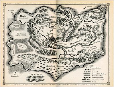 Mapa de Oz