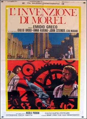 Otro cartel italiano de L'invenzione de Morel