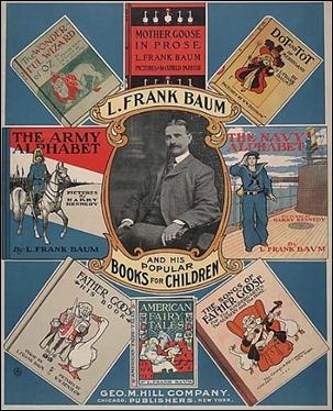 Póster promocional de diversas obras de Baum