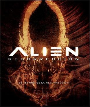 Cartel alternativo de Alien Resurrección