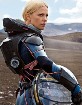 Charlize Theron en Prometheus
