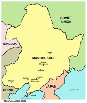 El reino títere de Manchukuo