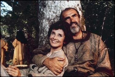 Inolvidables Sean Connery y Audrey Hepburn