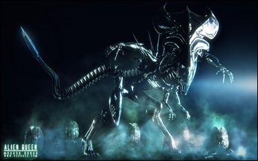 La temible reina madre de los aliens
