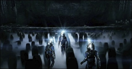 Un campo de urnas aliens