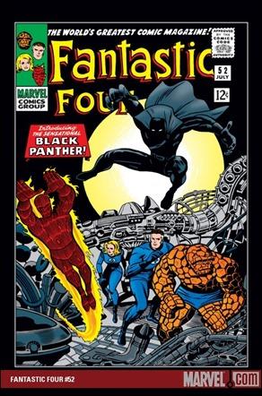 Fantastic Four 52, nace la Pantera Negra