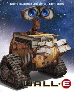 El entrañable robotijo Wall-E