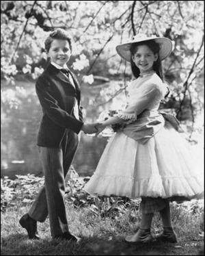 Pamela Franklin y Martin Stephens