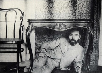 Curiosa imagen de Valeri Briusov
