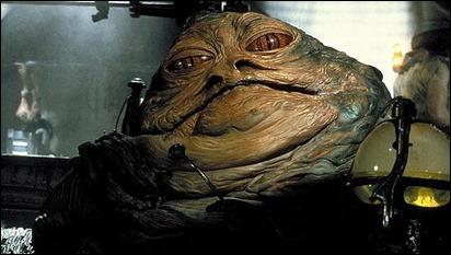 El gomoso Jabba el Hutt