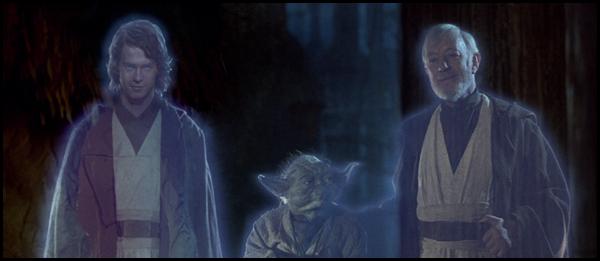 El joven Anakin se incorpora a El retorno del Jedi