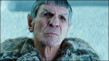 Entrañable Spock anciano