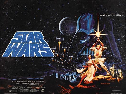 Magnífico cartel alternativo de Star Wars