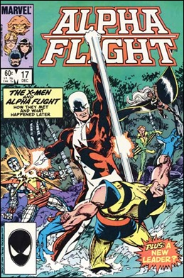 Alpha Flight, con Vindicador al frente
