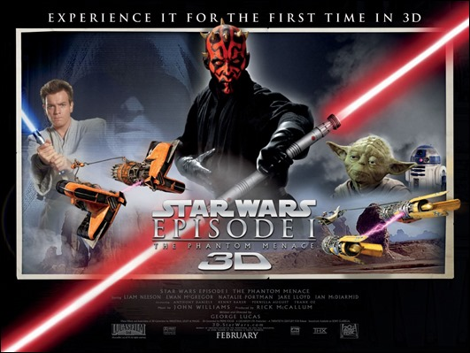 Demasiada importancia se da a Darth Maul en este cartel