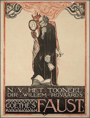 Edición holandesa del Fausto de Goethe