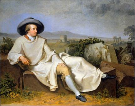 Goethe en Roma, de Tischbein