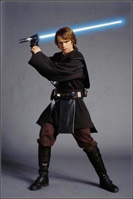 Hayden Christiansen, a punto de convertirse en Darth Vader