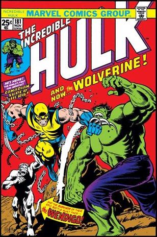 La primera aparición de Lobezno, luchando con Hulk