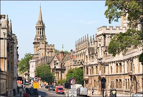 Las calles de Oxford