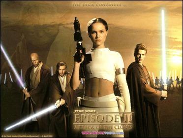 Padmé recordando a su hija Leia