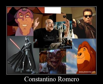 Constantino Romero y sus más famosos personajes