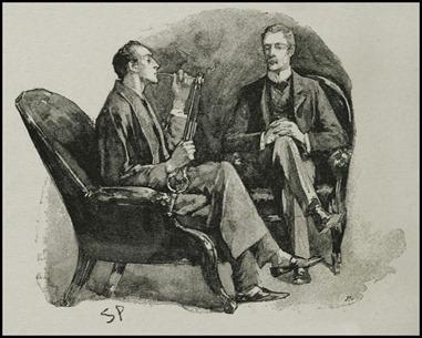 Holmes y Watson, por su mejor ilustrador, Sidney Paget