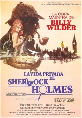 La vida privada de Sherlock Holmes, por B. Wilder
