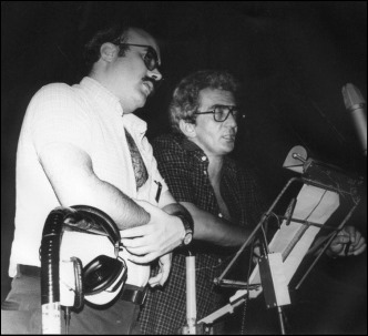 Nada menos que Roger Moore y Marlon Brando, o sea, Constantino Romero y Rogelio Hernández