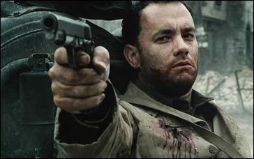 Tom Hanks como el capitán Miller