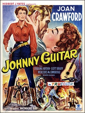 Cartel belga de Johnny Guitar