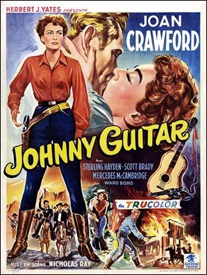 Cartel belga de Johnny Guitar